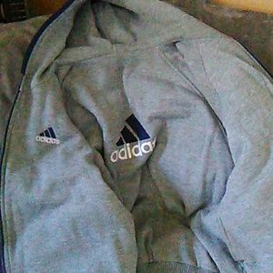 adidas Jackets & Coats - NWOT Adidas, reversible jacket/sweatshirt